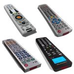 Assorted tv remote controls