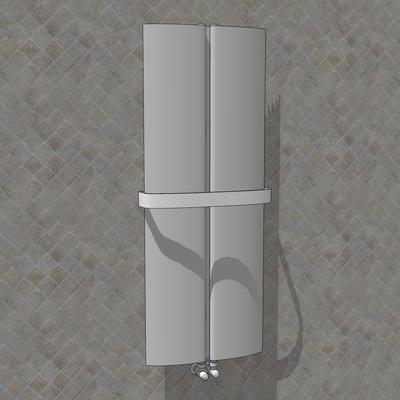 Ad hoc wing radiator 3d model formfonts 3d models textures - Italian ad hoc interviste ...