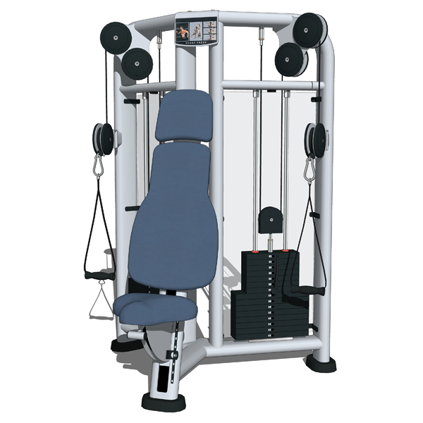 Life Fitness Strength gym equipment. Part of the S....