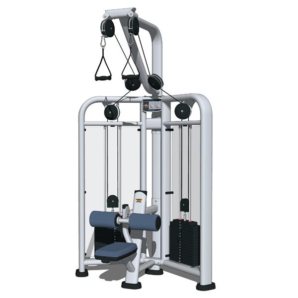 Life Fitness Gym Set 01 3d Model Formfonts 3d Models