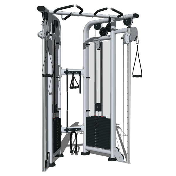 Dual Adjustable Pulley set by Life Fitness. Part o....