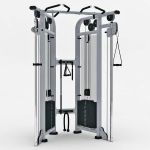 Dual Adjustable Pulley set by Life Fitness. Part o...