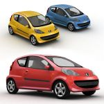 The Peugeot 107 is a city car 