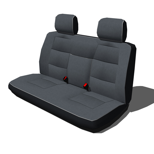 car seats set a 3d model formfonts 3d models textures