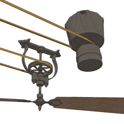 Brewmaster Ceiling Fan 3d Model Formfonts 3d Models