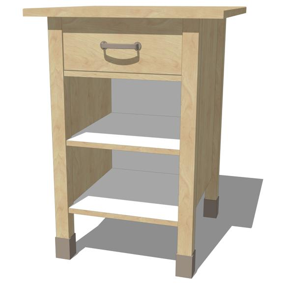 Ikea Free Standing Kitchen Cabinets: IKEA Varde Kitchen Cabinets 3D Model