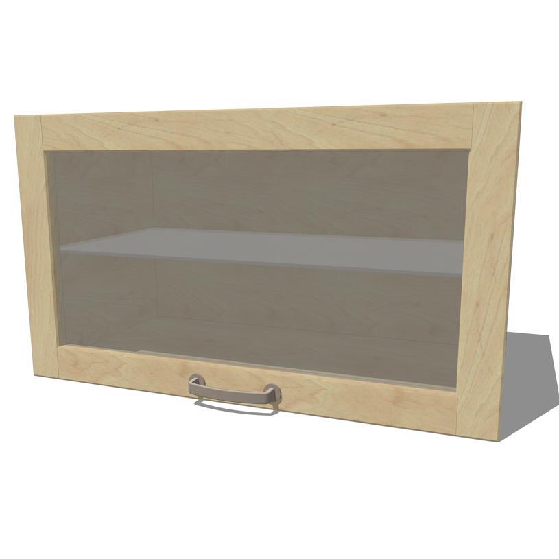 Ikea Kitchen Upper Cabinets: IKEA Varde Kitchen Cabinets 2 3D Model