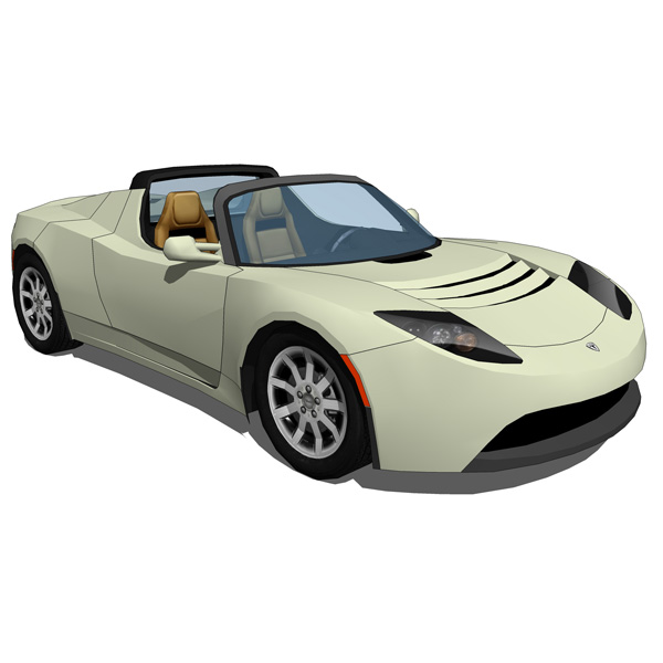 Produced by Tesla Motors, the 