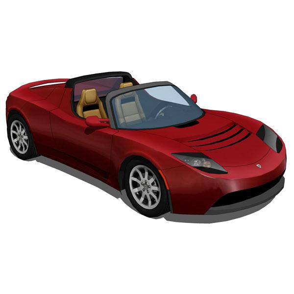 3d 2012 Tesla Roadster Sport: FormFonts 3D Models & Textures