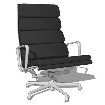 Eames SoftPad Lounge Chair.