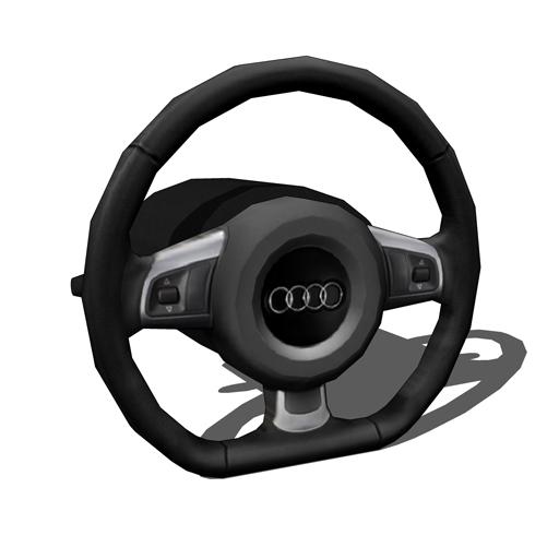 3d Steering Wheel Concept Design