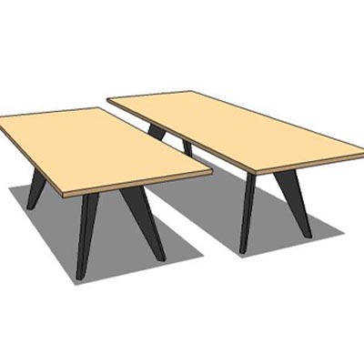 Vitra jean prouve's em table,gueridon table and st....
