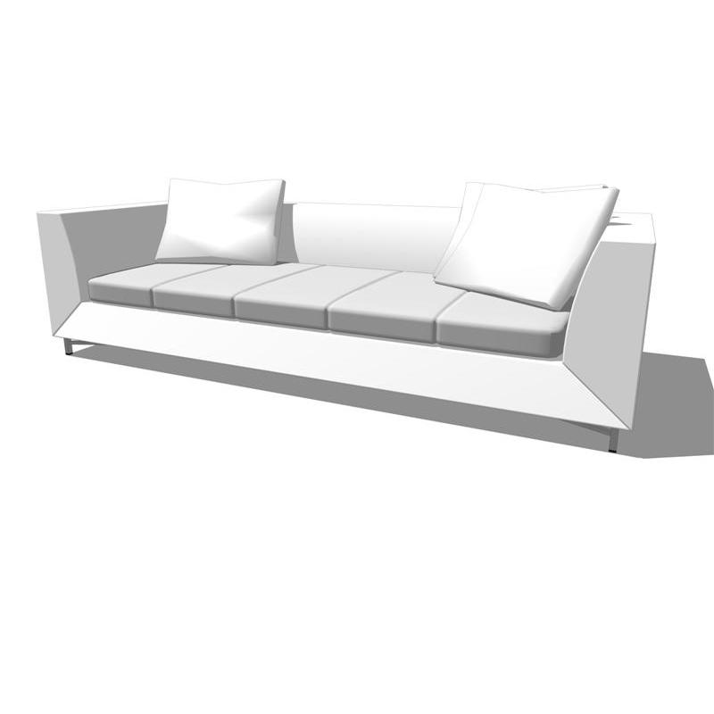feng sofa collection 3d model formfonts 3d models textures. Black Bedroom Furniture Sets. Home Design Ideas