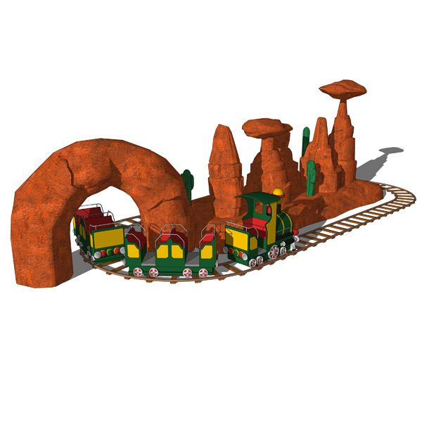 Kiddie Train Feature for mall playgrounds or amuse....