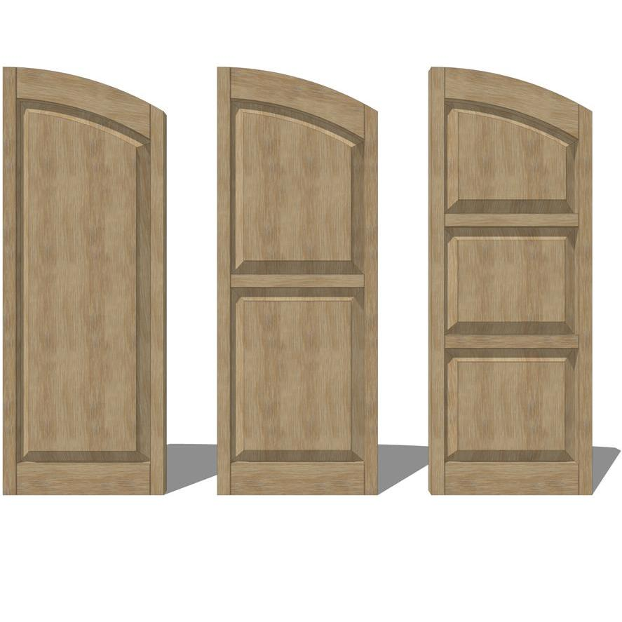 Raised panel shutters 3d model formfonts 3d models textures for 18 inch wide exterior shutters