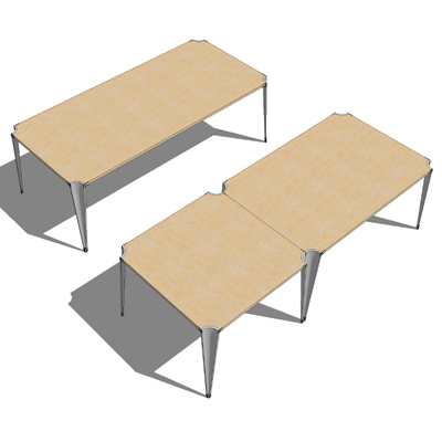 The Davis Carre tables are a unique set of tables ....
