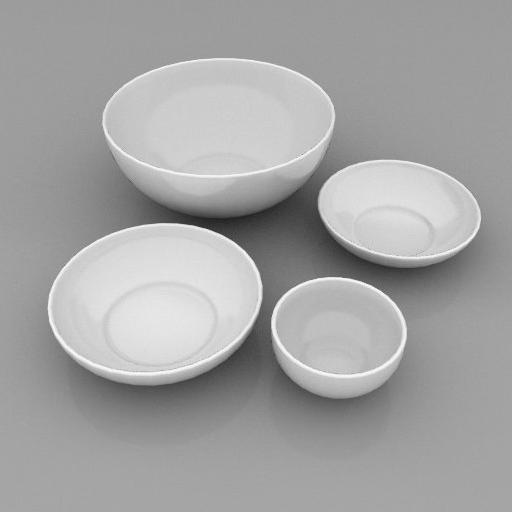 White Dinnerware by Crate and Barrel..