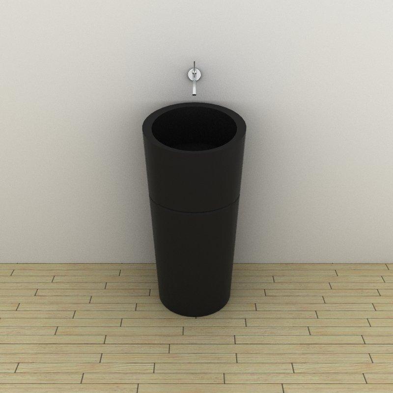 sink satri unique of stone ii cast bathroom modern sinks pedestal