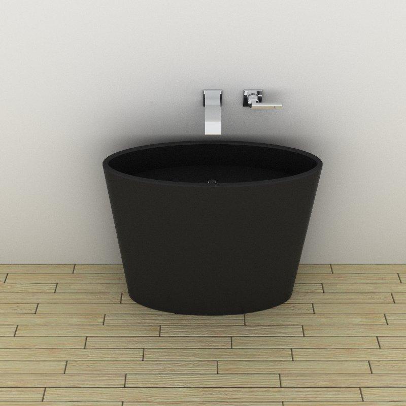 Stone pedestal sinks 3d model formfonts 3d models textures for Sketchup bathroom sink