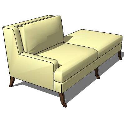 Dixon sofa 3d model formfonts 3d models textures for Divan furniture models