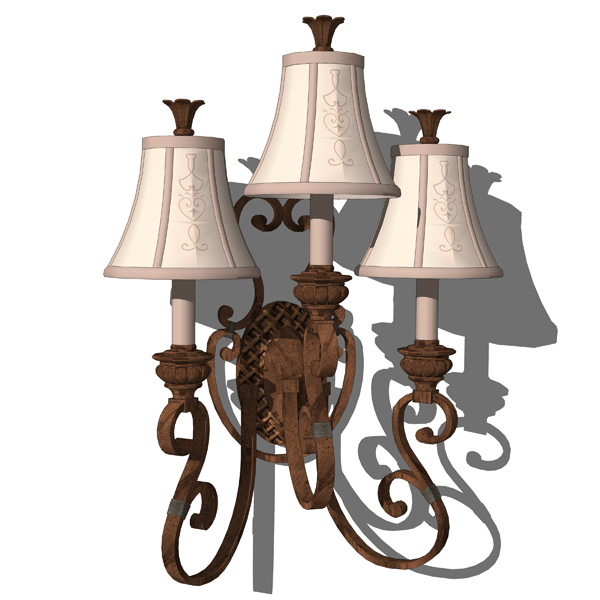 Classic Chandeliers 3D Model - FormFonts 3D Models & Textures
