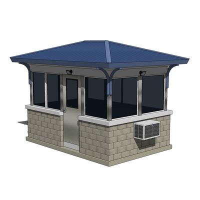 Guard House Medium 3d Model Formfonts 3d Models Amp Textures