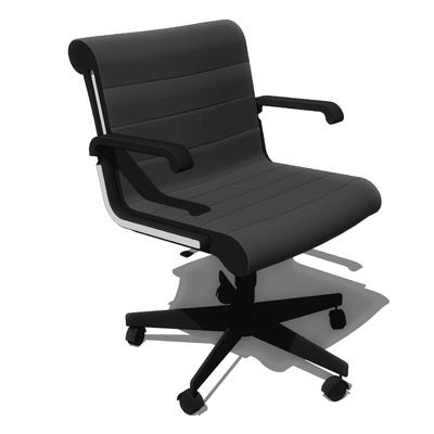 Knoll Sapper Management Chair 3D Model