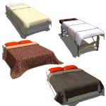 Spa table cover and bed spread