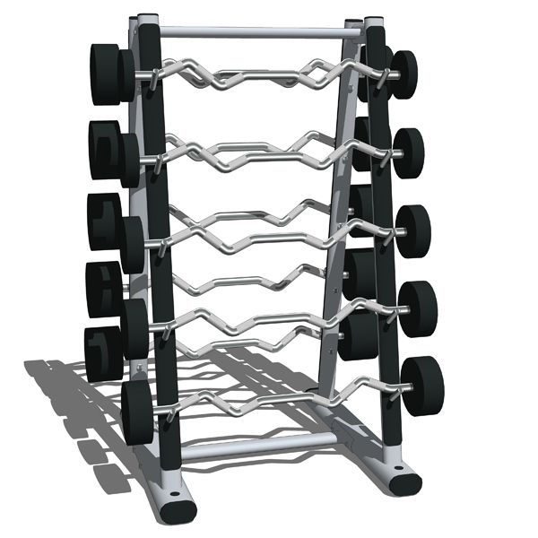 Life Fitness Signature Series Weights Storage Stat