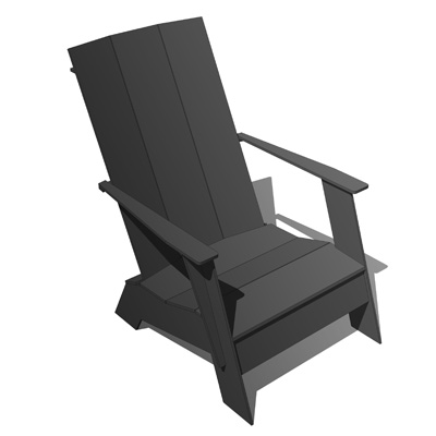 adirondack chair design within reach