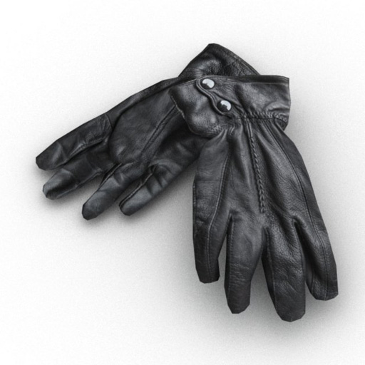 Set of two photoreal leather 