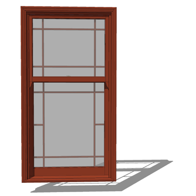 Marvin 3 0 x 5 8 clad ultimate double hung cottage windows for Wood clad windows