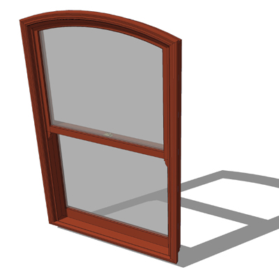 Marvin aluminum clad wood double hung windows with....