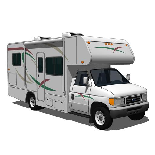 Ford Camper 3d Model Formfonts 3d Models Amp Textures
