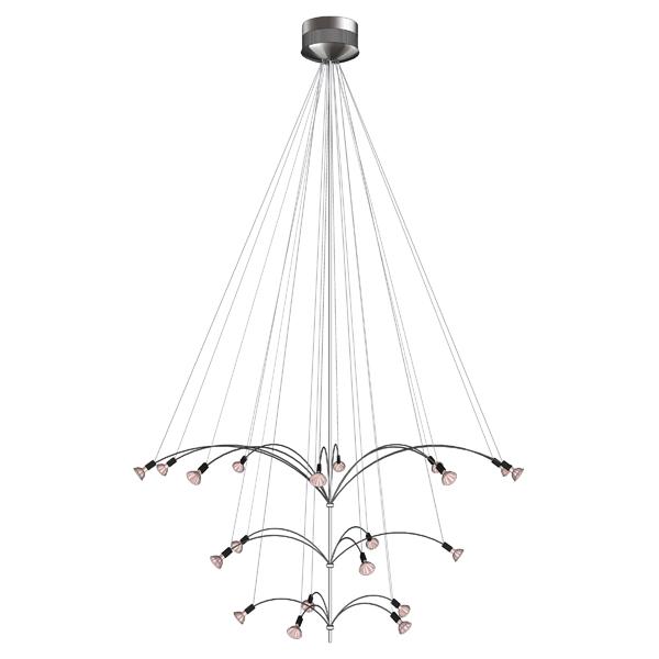 lbl chandeliers 3d model