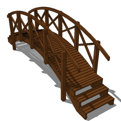 Pool Bridge With Effective Maximum Span Of Approx