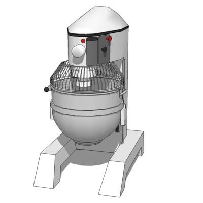 Comm Kitchen Mixer 3D Model - Formfonts 3D Models & Textures