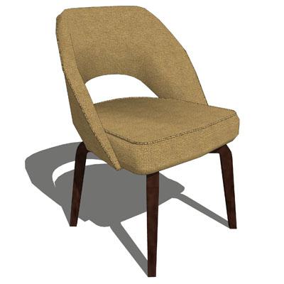 armless executive chair. Eero Saarinen Executive Chair. Armless Chair H