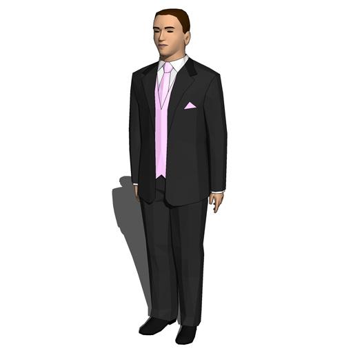 Grooms 3d model formfonts 3d models textures