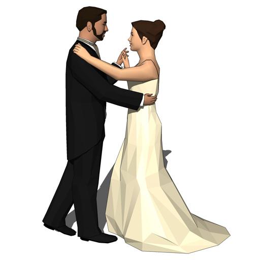 Wedding Dancers 3d Model Formfonts 3d Models Amp Textures