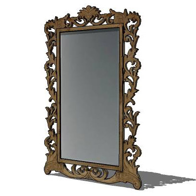 Large Leaning Floor Mirror From Restoration Hardwa