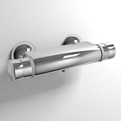 Great Thermostatic Wall Mount Shower Faucet By Kohler.