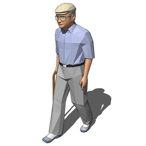 elderly man walking - photo #36