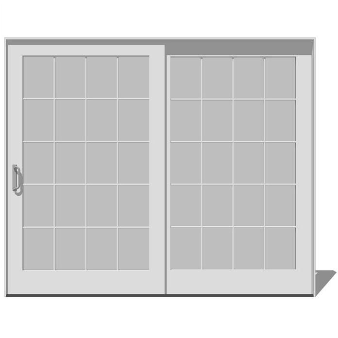 Sliding Glass Patio Door Dimensions 696 x 696