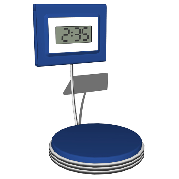 Set of 4 different Desk Clocks..