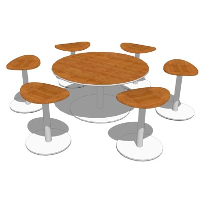 Enea Cafe Stools and Tables manufactured by Brayto....