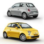 The new Fiat 500, designed in 