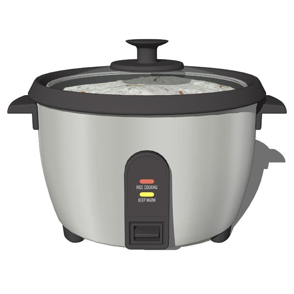 Kitchen Appliances 01 3D Model