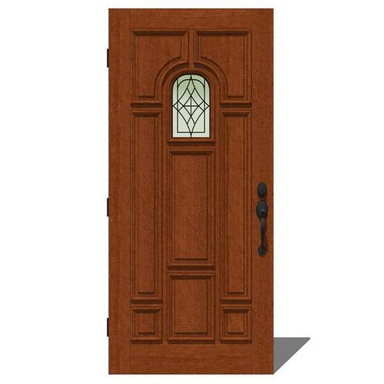 Jeld wen 2009 door set 4 3d model formfonts 3d models for Jeld wen exterior doors