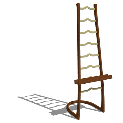This is a very artistic adjustable height easel. B....